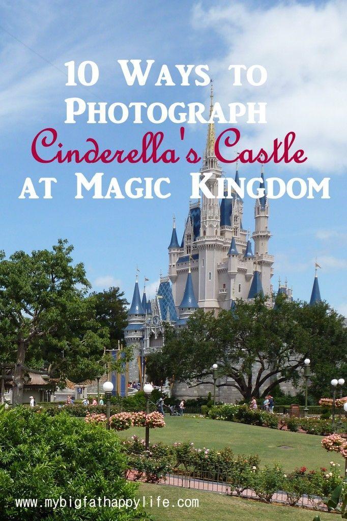 Cinderella's Castle Photo Ideas at Magic Kingdom, Disney World