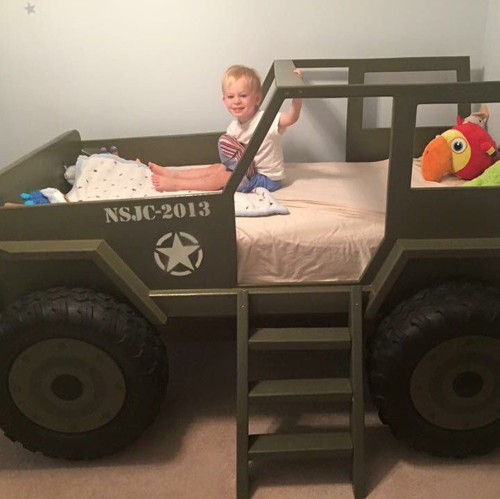 Jeep Bed Plans Twin Size Car
