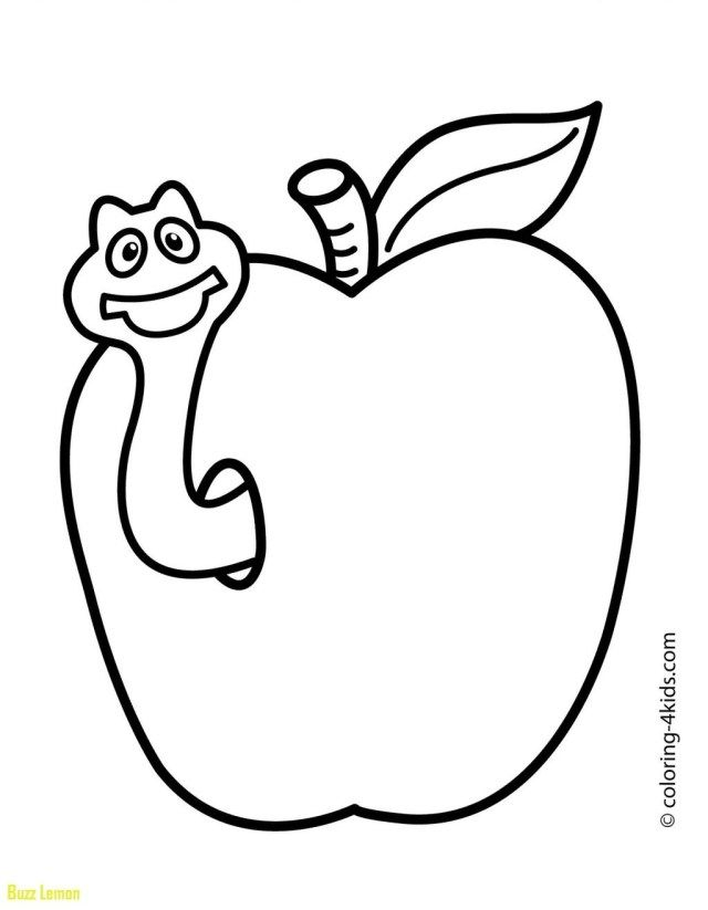 Exclusive Image Of Coloring Pages For 3 Year Olds Entitlementtrap Com Easy Coloring Pages Fruit Coloring Pages Apple Coloring Pages