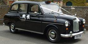 black london taxi blackpool wedding car