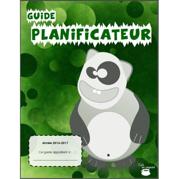 Guide planificateur 2016-2017 (4 périodes)