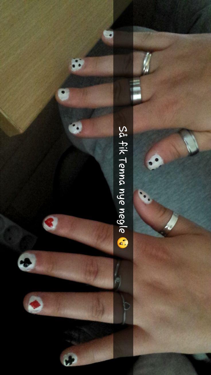 Gambling Nails (on my friend Tenna)