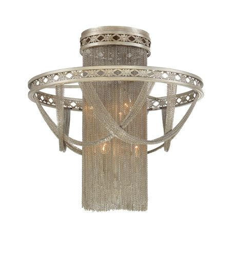 Savoy House Castello convertible semi flush is a dramatic and elegant collection by premier designer Raymond Waites. Strands of chain are draped to create ...  sc 1 st  Pinterest & 233 best I See the Light images on Pinterest | Wall sconces ... azcodes.com