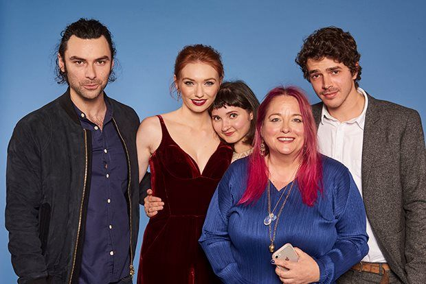 Aidan Turner, Eleanor Tomlinson, Ruby Bentall, Beatie Edney and Harry Richardson | Here are some fun pics of the Poldark cast from the Radio Times Covers Party which was held at Claridges on 31 January, 2017.  Enjoy!   All ...