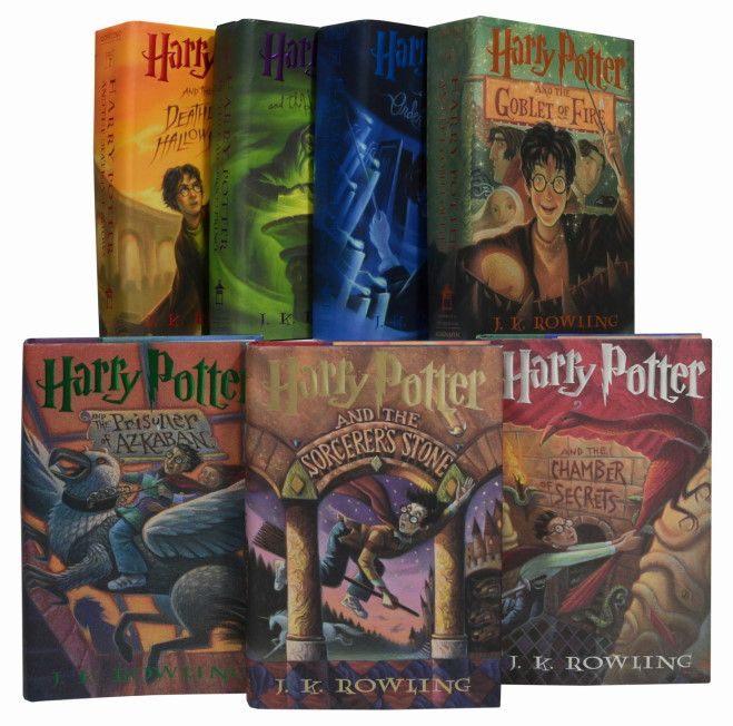 Harry Potter series Who doesn't love them?