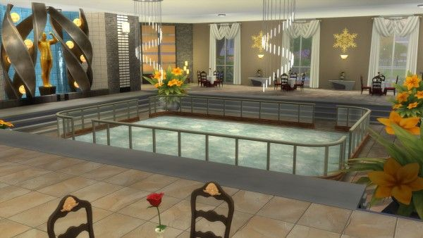Mod The Sims: Two Skates: Indoor Ice Skating Rink and Restaurant by Snowhaze
