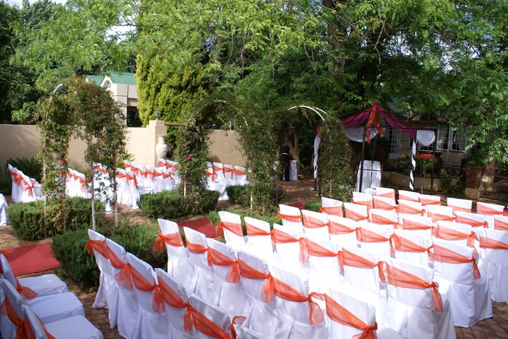 Garden Wedding Service @ Three Oaks Venue in Centurion www.threeoaks.co.za