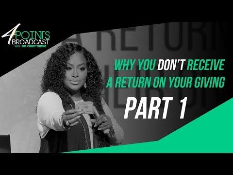 Why You Don't Receive A Return On Your Giving | Part 1 | Dr