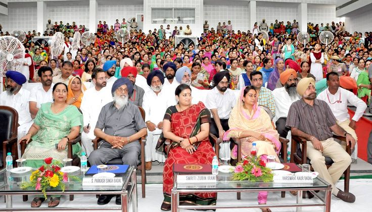 Union government has also decided to hold the national arts and craft festival on the theme of 'Beti bachao, beti padhao'. She said that it was must for ensuring women empowerment in the country. #parkashsinghbadal #education #empowerment #shiromaniakalidal #sad