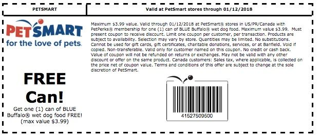 Petsmart Coupons Printable Coupons 2018 Printable Coupons Coupons Blue Buffalo
