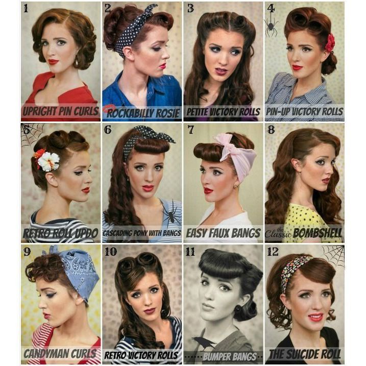 peinados de los 50's - Google Search