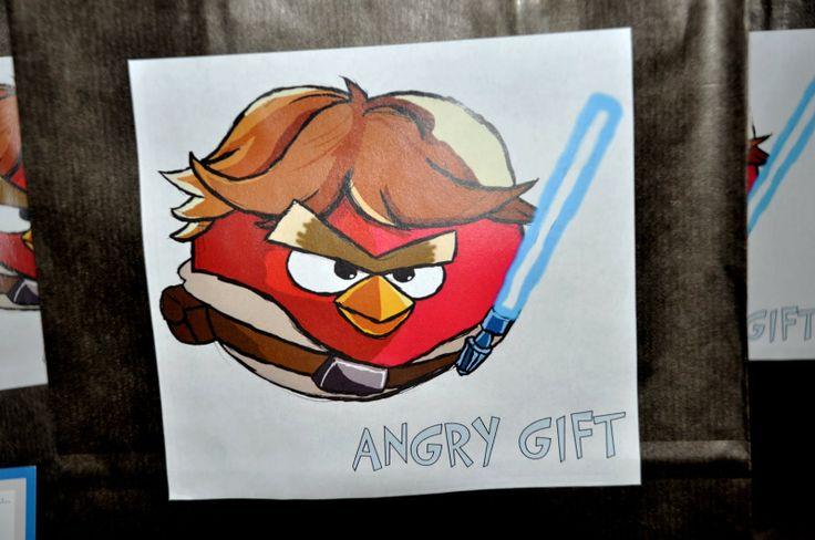 Η τέχνη της Σοφίας: Star Wars Angry Birds Birthday Party