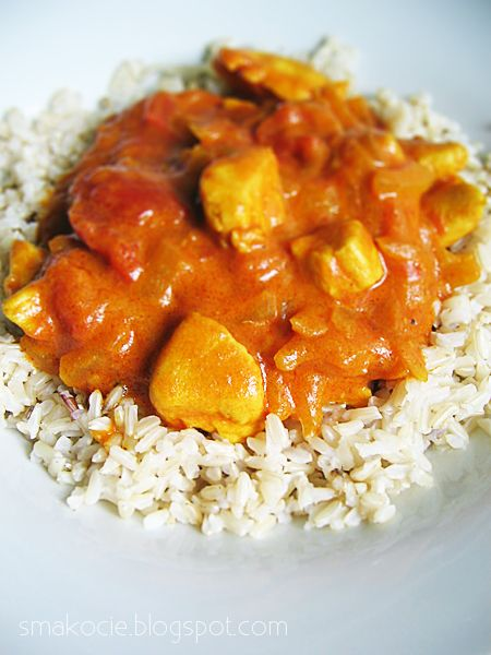 Smakocie i Łakołyki: Kurczak curry - szybki i łatwy