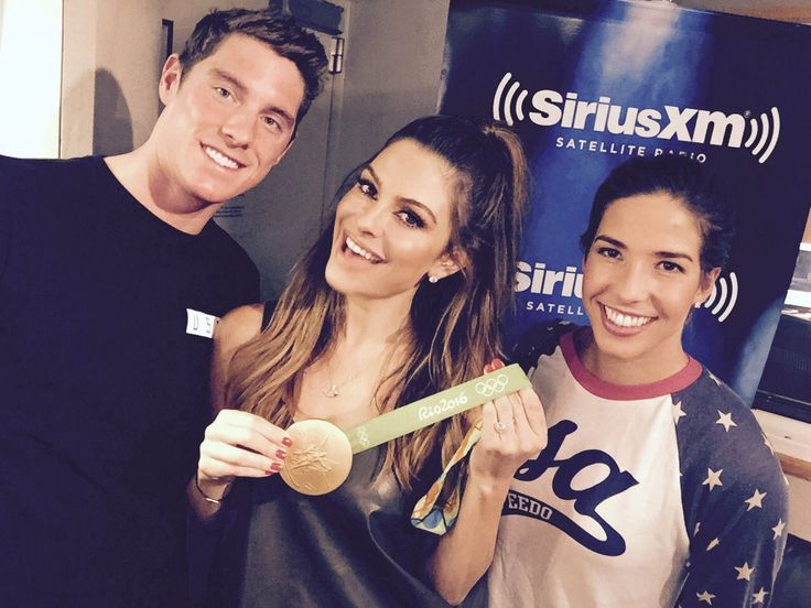 Conor Dwyer / Maria Menounos --- Aon SirousXM, Maya Dirado and Conor Dwyer talked LochteGate and Olympic Dating