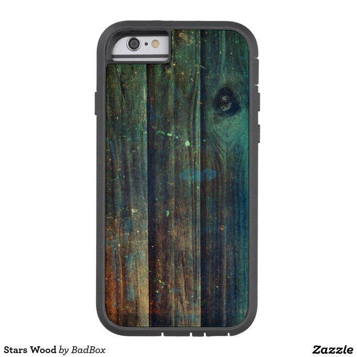 Stars Wood Tough Xtreme iPhone 6 Case