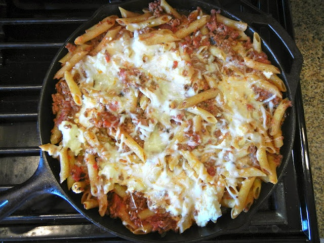 Skillet Baked Ziti | Simply Gourmet in Southie Recipes | Pinterest