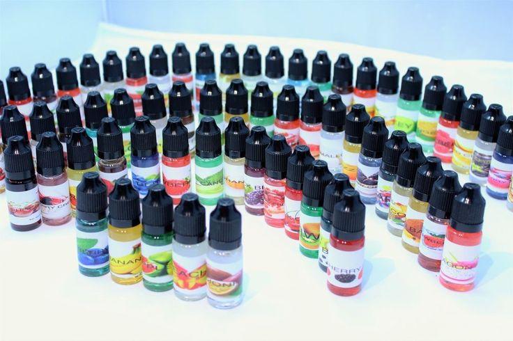 Pick Your Flavors 10 x 10ml E Liquid Vaporizer Juice USA 0 Nicotine Ejuice Vape   eBay