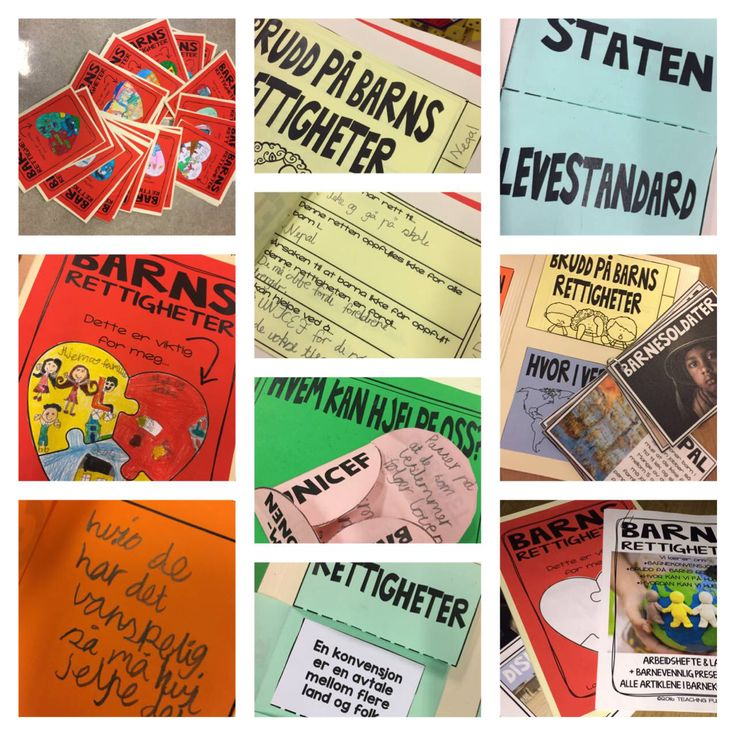 3b Aronsløkka skole Drammen har jobbet med tema: Barnsrettigheter og brukt opplegget til Teachingfuntastic og laget flap book. Elevene var kjempe engasjerte og likte arbeidsmåten kjempe godt.