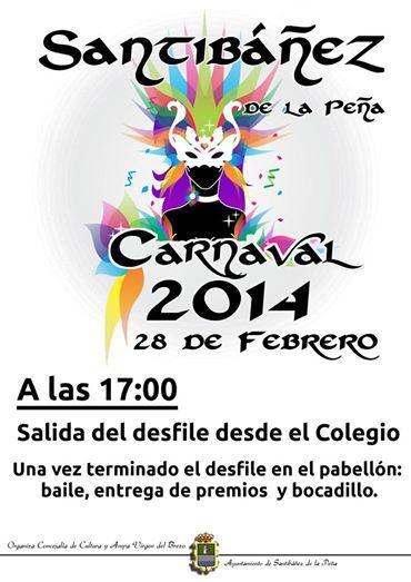 Carnavales en Santibañez de la Peña Palencia