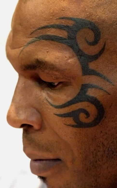 Meanings of maori tattoos, Mike Tyson