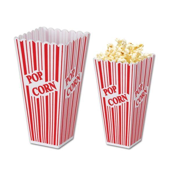 Plastic Popcorn Box $2.64