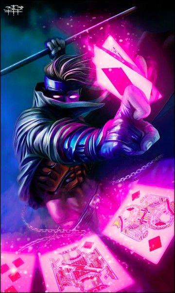 imagenes de los x mens gambito