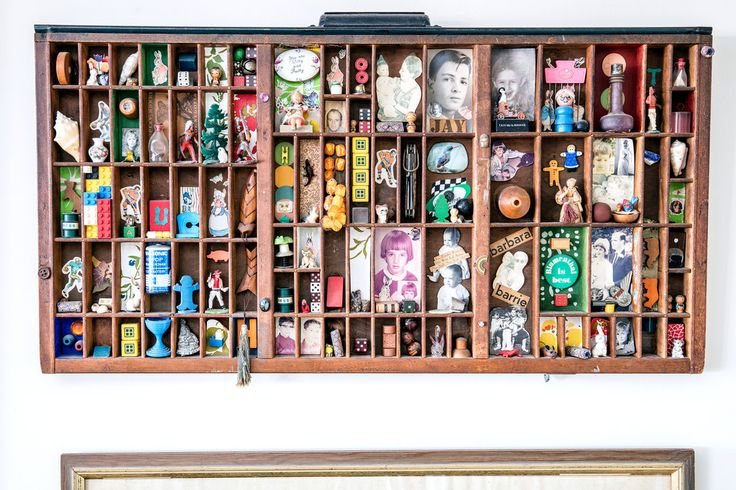 Barbara Barrie - displaying trinkets