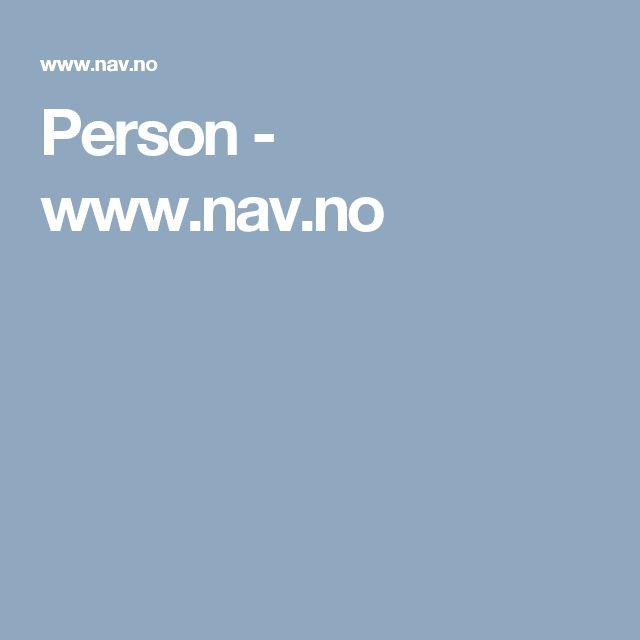 Person - www.nav.no