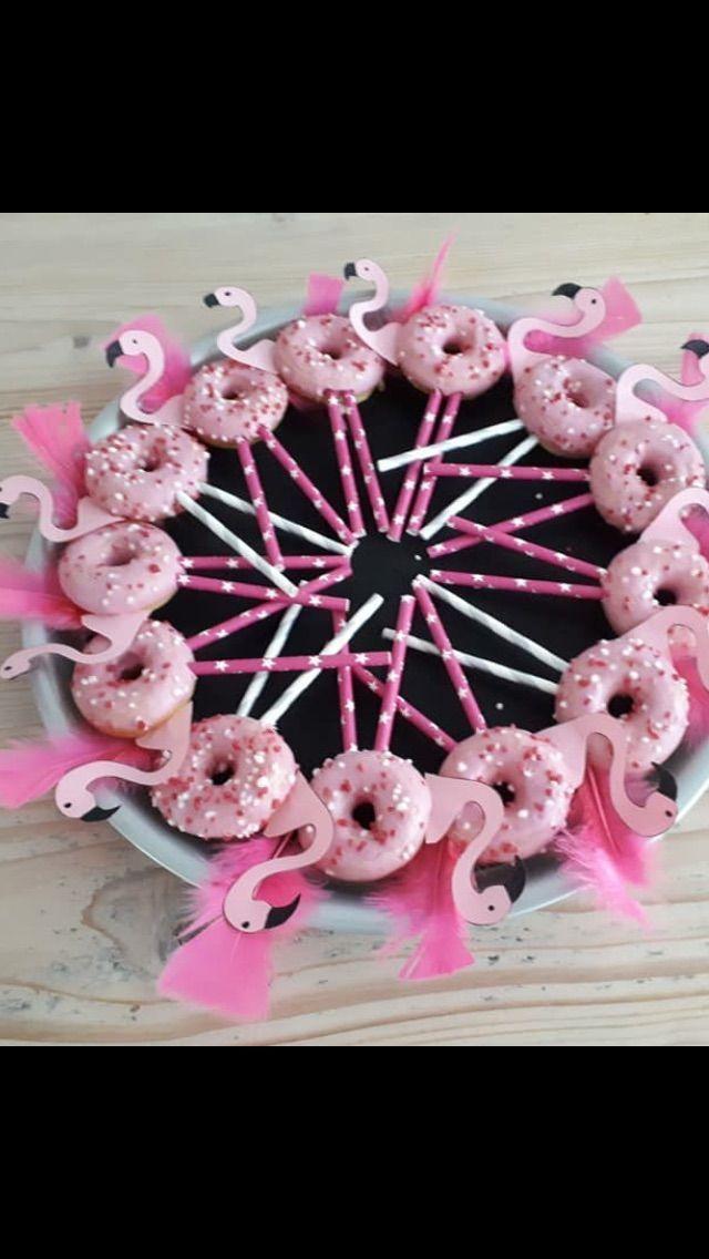Diese rosa Flamingodonutstangen sind so süß! Das perfekte und einfache Vergnügen für …