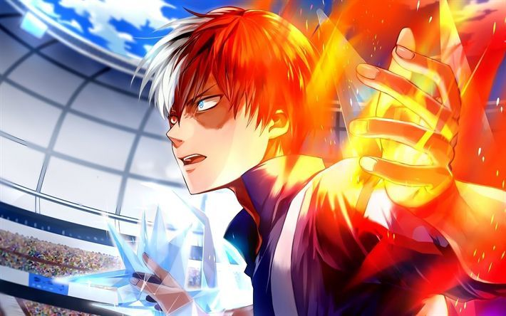 Download Wallpapers Shouto Todoroki Artwork My Hero Academia Fire Manga Boku No Hero Academia With Images Hero Wallpaper My Hero Academia Shouto My Hero Academia Manga