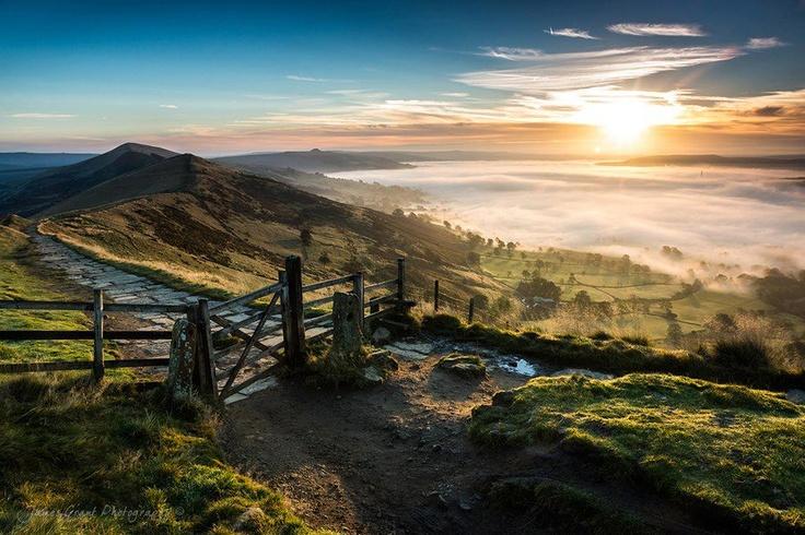 Peak District walks, England.