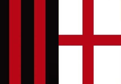 #Milan #rossoneri #redblack #croce #soccer
