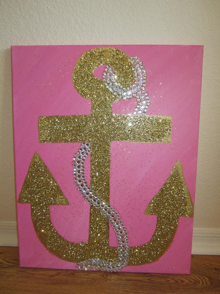 Delta Gamma anchor painting