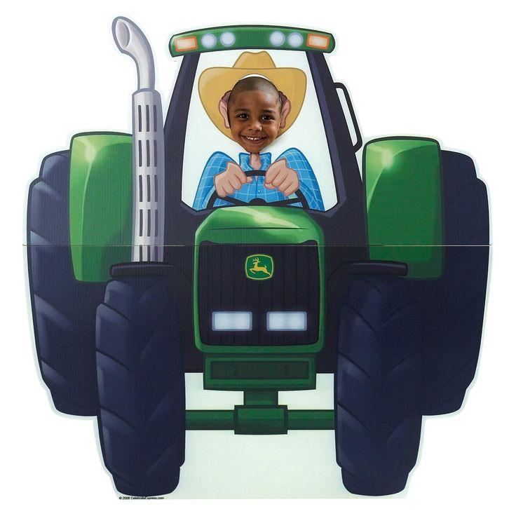 John Deere Tractor Cutouts : Farm tractor standup john deere party and birthdays