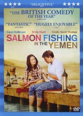 DVD: Ewan McGregor, Emily Blunt, Kristin Scott Thomas: Salmon Fishing In The Yemen #gifts #holidays #Christmas #DVD #movie