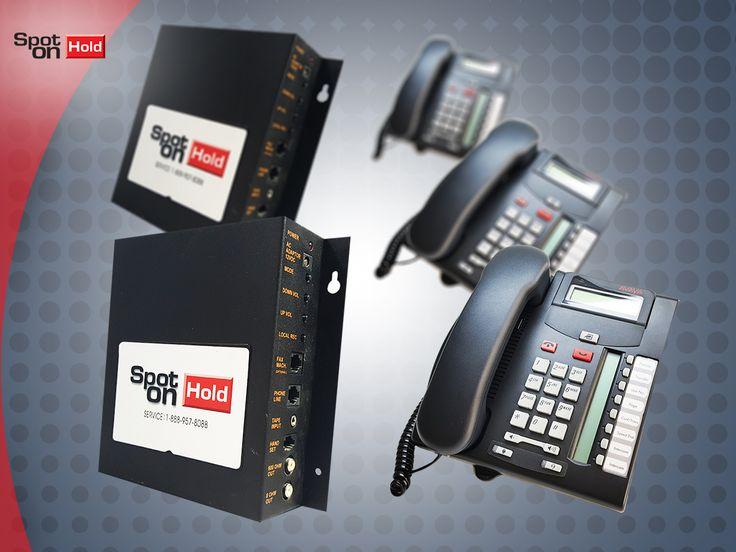Maximiza tu teléfono con mensajes informativos para tus clientes. ¡Llámanos! www.spotonhold.com 1-888-957-8088
