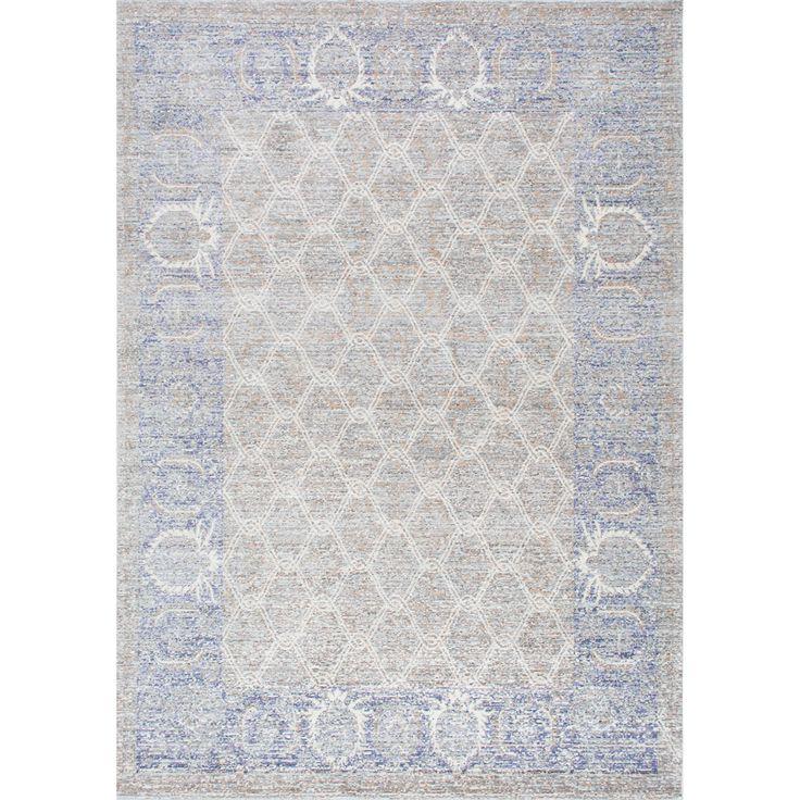 nuloom traditional intricate trellis grey rug 5u00273 x 7u00277 by nuloom