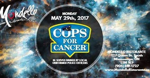Be served dinner by uniformed local police officers for cancer research. 50% of all sales will be donated. ��Visit our website or call the risto to reserve a table today!����‍♀️ #mondelloristo #chefnico #welovewhatwedo #cancerresearch #supportacause #feedfeed #onthetable #mississauga #fuelbyfood #italiancuisine #streetsville #finedining #foodanddrink #sauga #foodandwine #mississaugaeats #peelpolice http://w3food.com/ipost/1509920816853446464/?code=BT0UPunhG9A