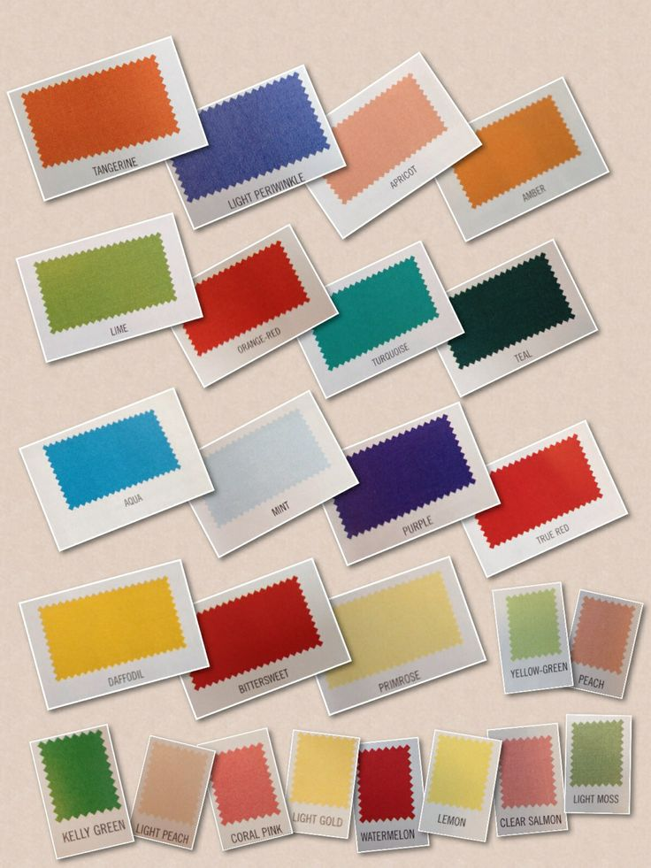 Mye statement colours - Warm&Clear Color Me Beatiful