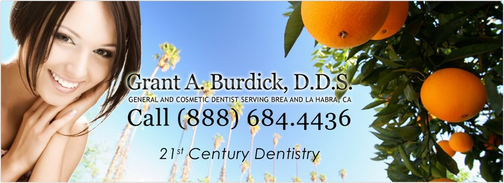 This dentist fitted me with invisalign a few months back and my teeth are now just awesome. Thanks Dr. Burdick >> Brea Dentist --> http://www.designedsmiles.com/