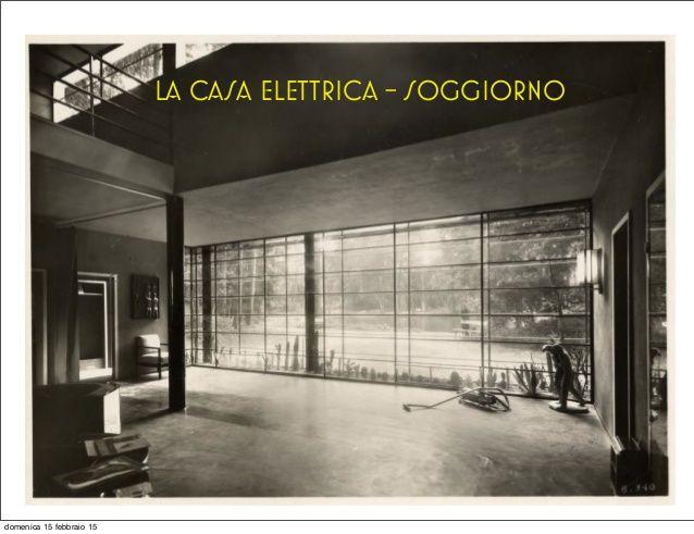 Casa elettrica figini e pollini a razionalismo italiano residenza pinterest gates - Serranda elettrica casa ...