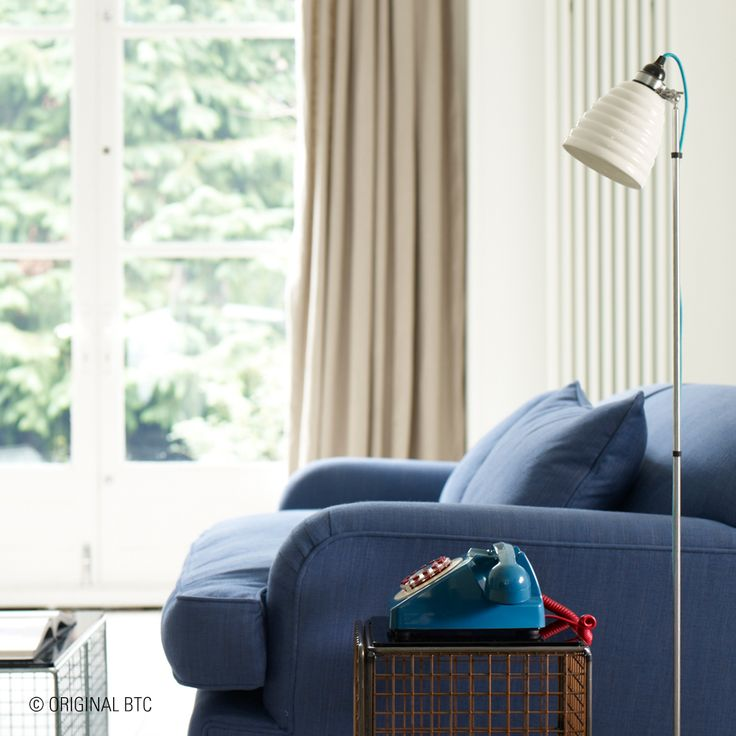 A stylish companion for design-savvy homes, the Hector Bibendum Floor Light, stands out with its layered shade and colourful cotton-braided flex.