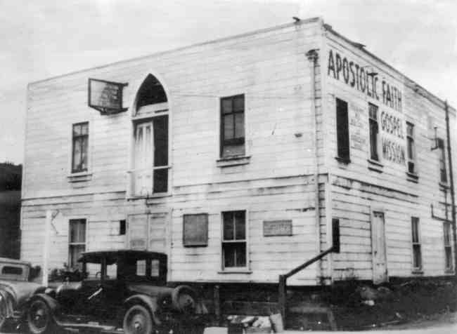 The Apostolic Faith Mission on Azusa Street, now considered to be the birthplace of Pentecostalism.