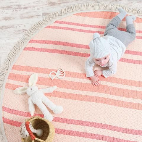 Collective Sol Roundie Rug Orange