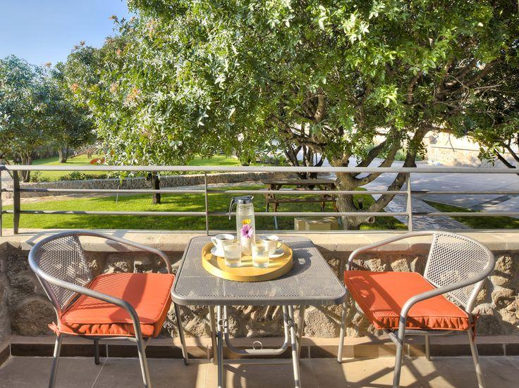 Enjoy your coffeeat the balcony of Erato #suite!