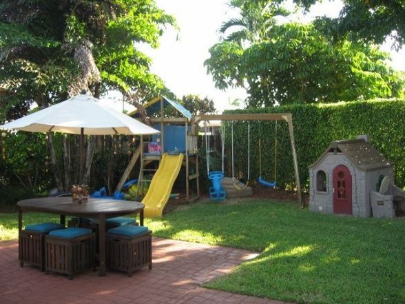 Kid Friendly Backyard Pictures | Florida Lush Yard, Resort Style Pool, Also Kids  Friendly