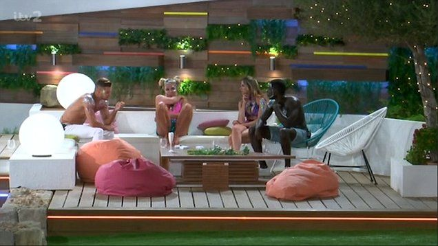 Montana gets caught out b******g about Gabby and Marcel on Love Island.