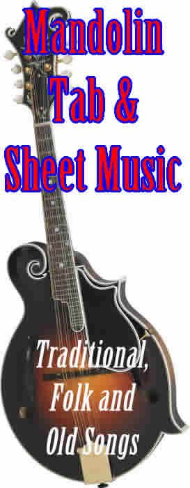 This collection includes nearly 4000 scores with sheet music and mandolin tablatures for traditional, folk and old songs.