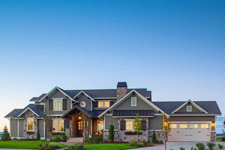 Traditional House Plan with Craftsman Touches - 95023RW | Architectural Designs - House Plans