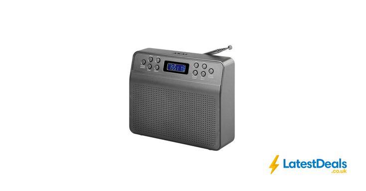 Akai Portable DAB Radio - Grey, £24.93 at Robert Dyas